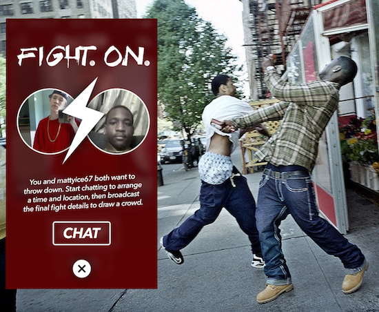 Tinder For Fighting App Is Now Available