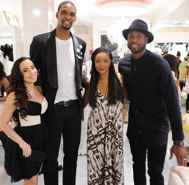 The Boshs and Wades at Boutique Grand Opening