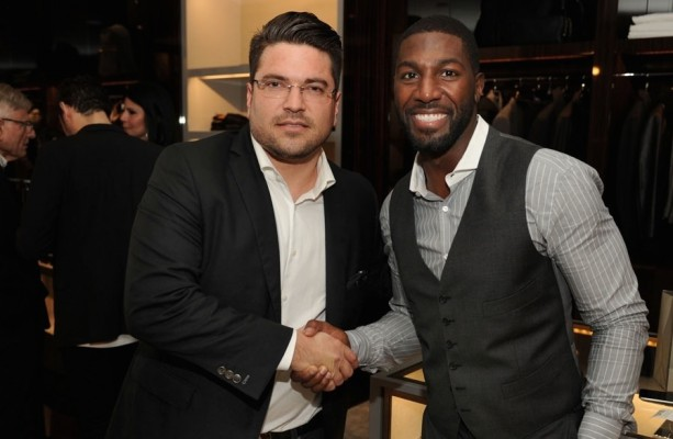 Greg Jennings Stays Classy At Tom Ford Grand Opening