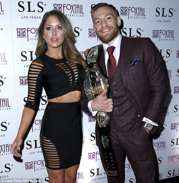 UFC Champion Conor McGregor Hosts UFC 194 After Party