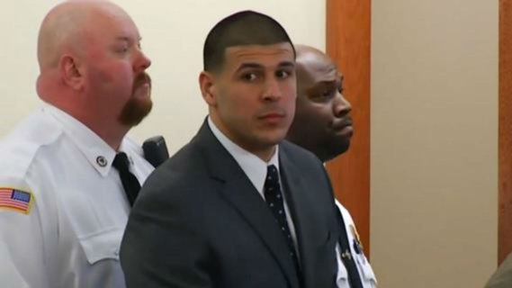 Aaron Hernandez Reportedly Caught With A Shank In His Cell