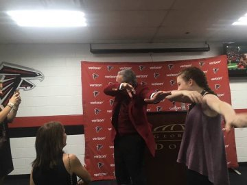 Arthur Blank Baps On Panthers After Victory