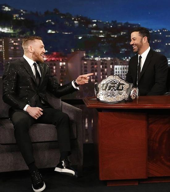 UFC Fighter Conor McGregor On Jimmy Kimmel