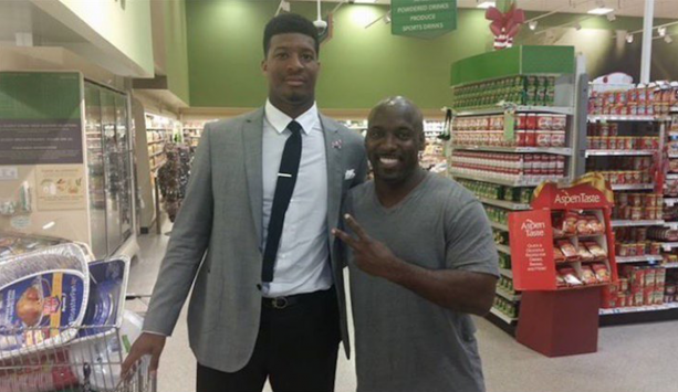 Jameis Winston Spotted At Publix Buying Crab Legs