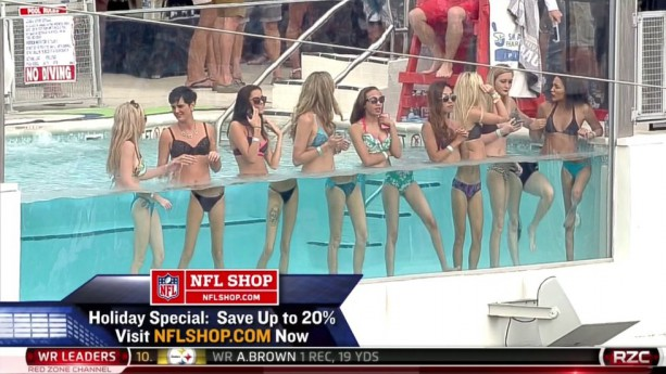 Jacksonville Pool Party Hits the Red Zone