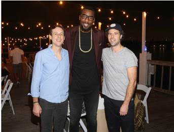 Art Collector Amare Stoudemire at Art Basel