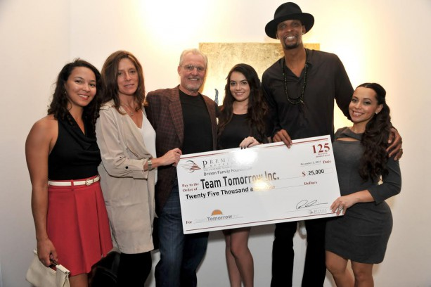Bosh Receives $25k Donation During Art Basel Weekend
