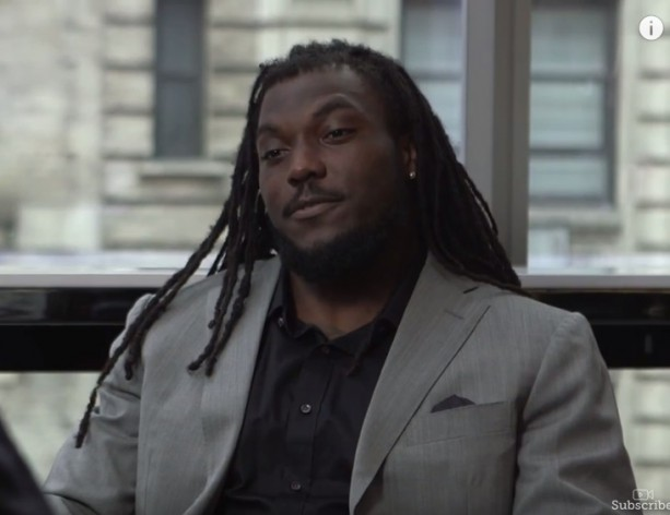 Chris Ivory faces star comedian in a test of emotions