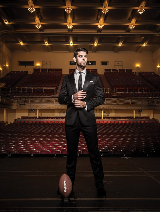 Ravens Kicker Has the Voice Of an Angel
