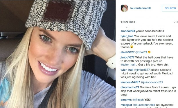 Ryan Tannehill's Wife Getting Trolled