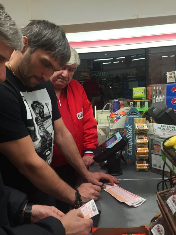 Alexander Ovechkin Wants In On The Powerball Action