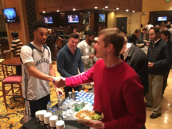 Memphis Grizzlies Have Chipotle Brought IN for Lunch