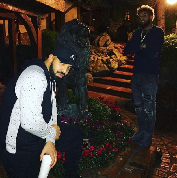 Odell Beckham Jr & Drake Getting Close?