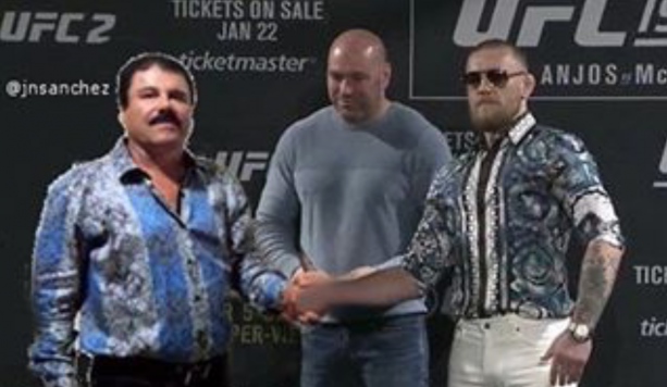 Conor McGregor Loves Him Some El Chapo