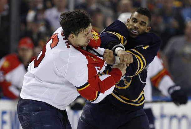 Alex Petrovich and Evander Kane Fought 3 Times Last Night