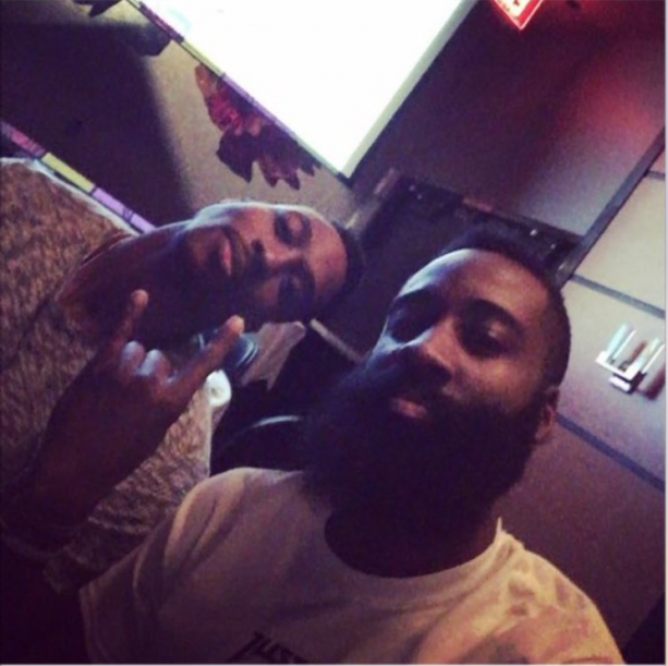James Harden and Dwight Howard Dine Together