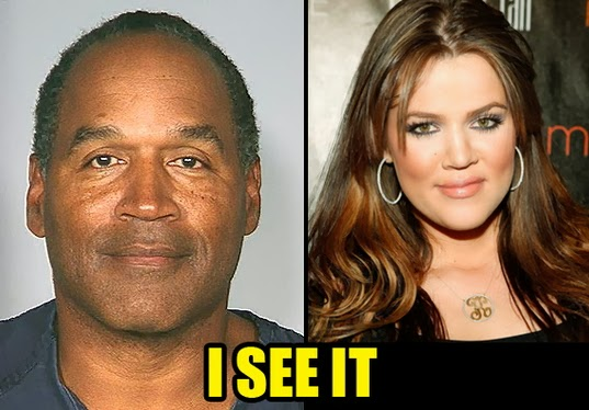 OJ's Daughter Bears a Striking Resemblance to Khloe Kardashian