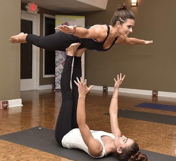 Danica Patrick Private Yoga Session