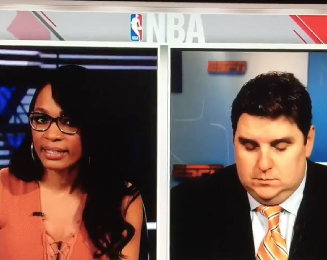 Brian Windhorst Falls Asleep On Live TV