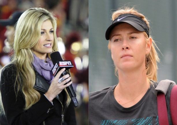 Betting Odds on Maria Sharapova and Erin Andrews