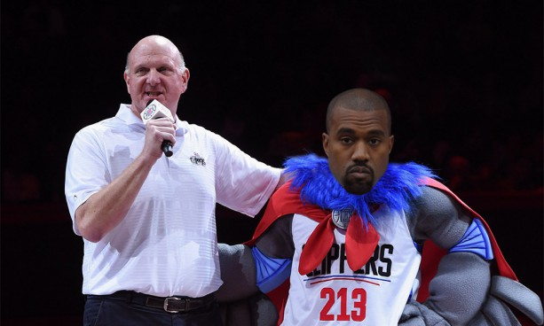 Kanye West Says Clippers Mascot 'Is Going To Be Dope'