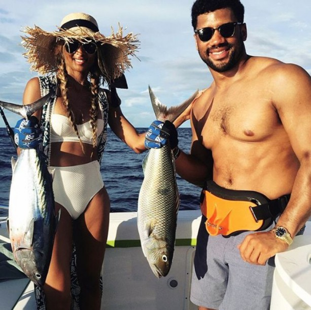 Russell and Ciara Gone Fishing