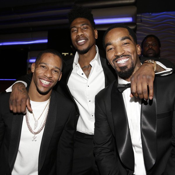 J.R. Smith Hosts Casino Night
