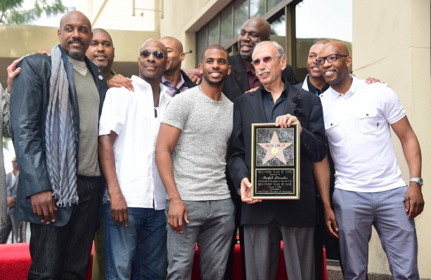 Chris Paul Attends Hollywood Walk of Fame Ceremony