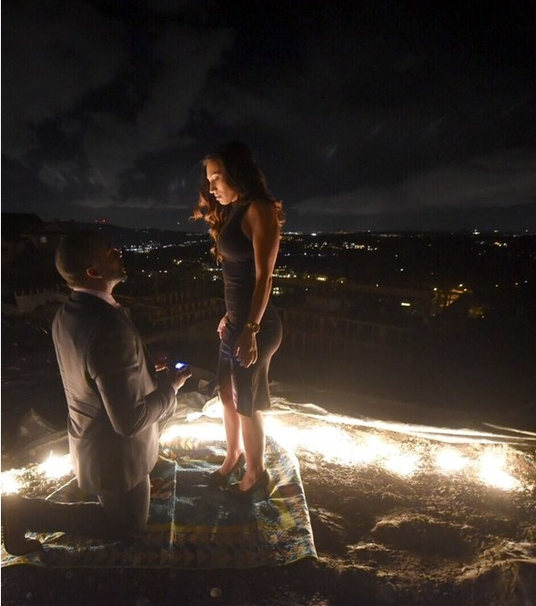 Doug Baldwin Gets Down on One Knee For Engagement