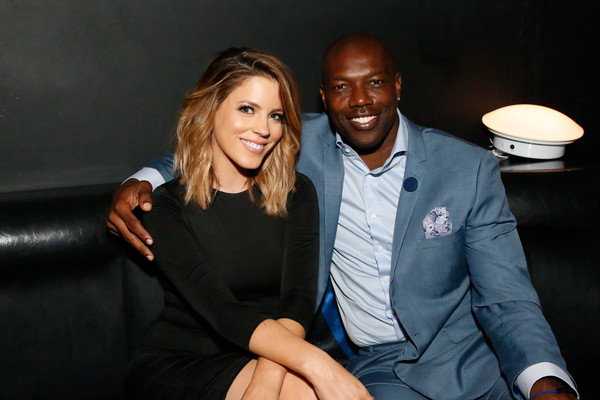 Terrell Owens Gets Close to TV Host
