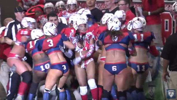 Bench Clearing-Brawl in the Lingerie Football League
