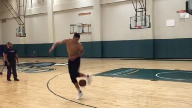 Ben Simmons Has Some Soccer Skills