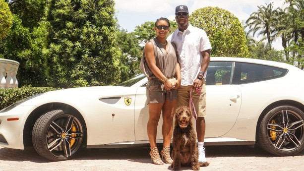 Jameis Winston Test Driving Ferraris