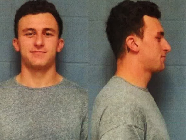 Johnny Manziel's mugshot is out