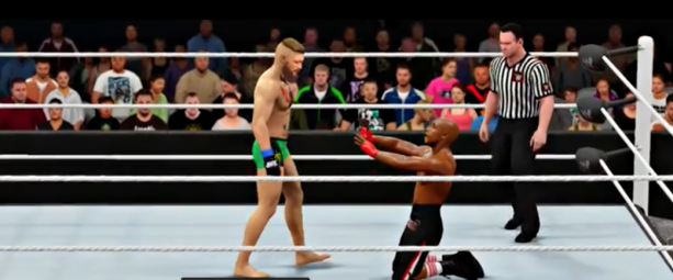 Conor McGregor vs Floyd Mayweather WWE 2K16