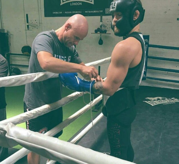Conor Mcgregor Spotted AT Boxing Gym In Los Angeles