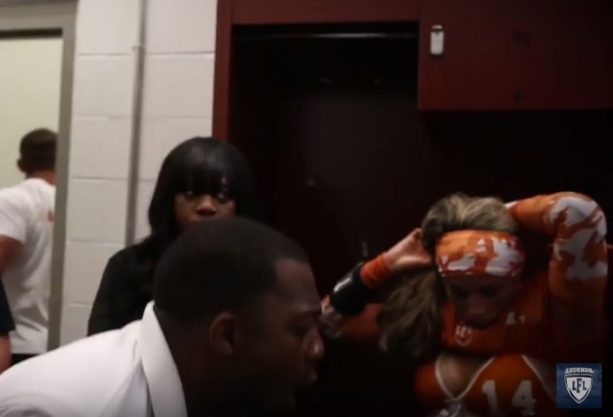 Lingerie Football League Locker room Tirade