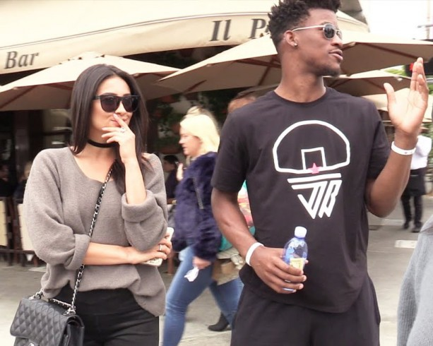 Jimmy Butler Spotted on a Lunch Date