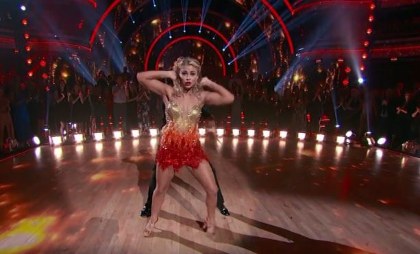 Paige VanZant Freestyles and Salsas in DWTS Finals