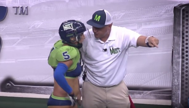 Lingerie League Football League Coaches are Insane