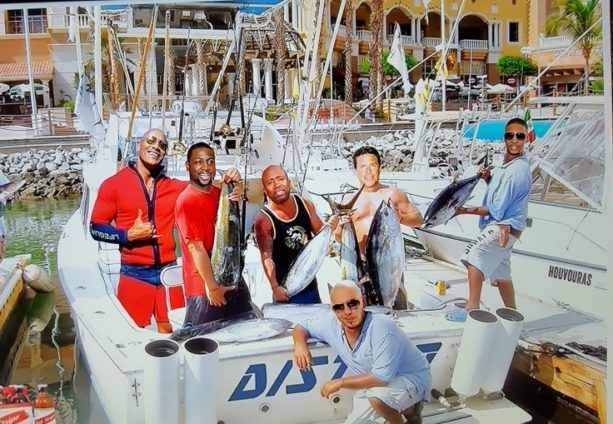 Miami Heat and Spurs Gone Fishing