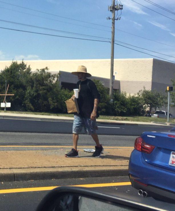 Delonte West Homeless Asking For Money On The Street Corner