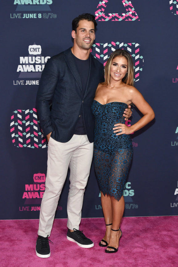 Eric Decker and Wife Jet up the Red Carpet