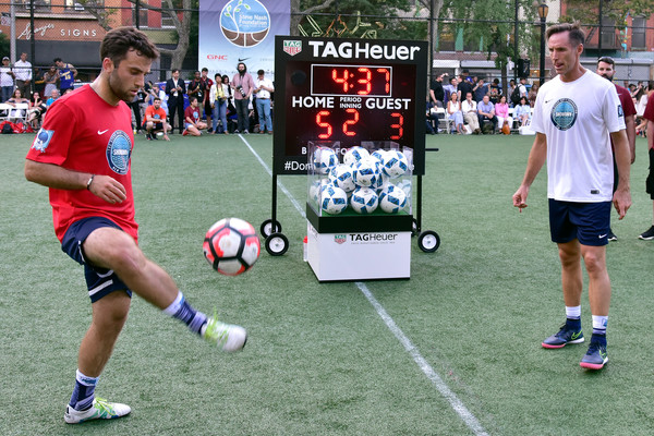 Steve Nash Foundation Showdown New York With Landon Donovan and David Villa