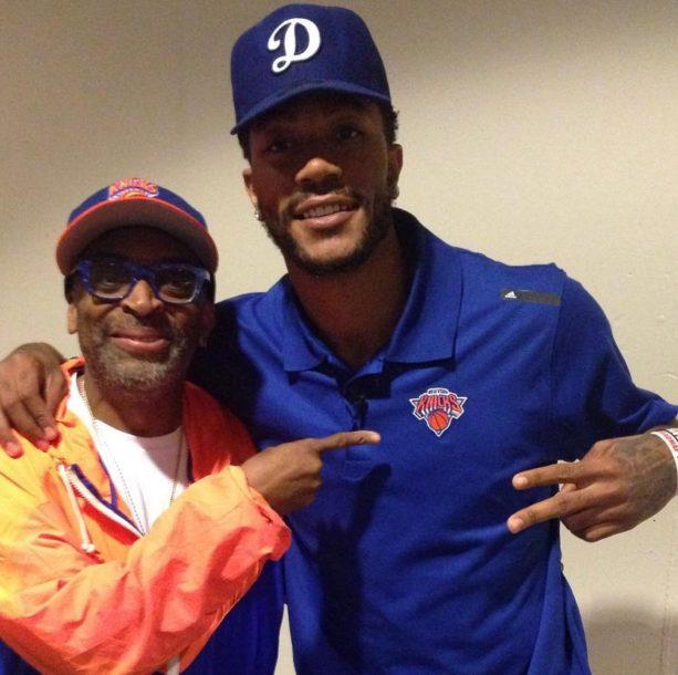 Derrick Rose Meets the Knicks Most Annoying Fan