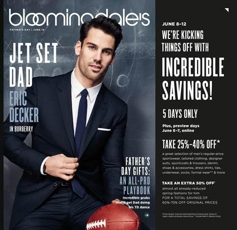Eric Decker has that Catalog Model SWAG