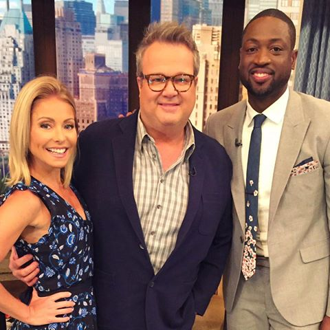 D-Wade Joins Kelly Ripa to Talk Decision