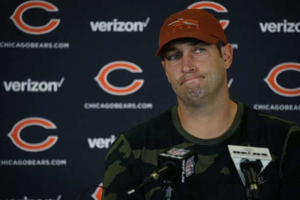 Jay Cutler's Wife Sends Him off to Training Camp