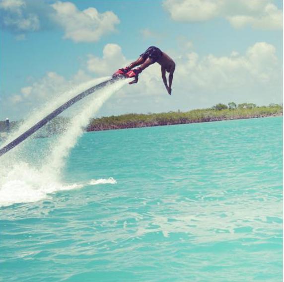 Jameis Winston Enjoying Vacation In Turks & Caicos