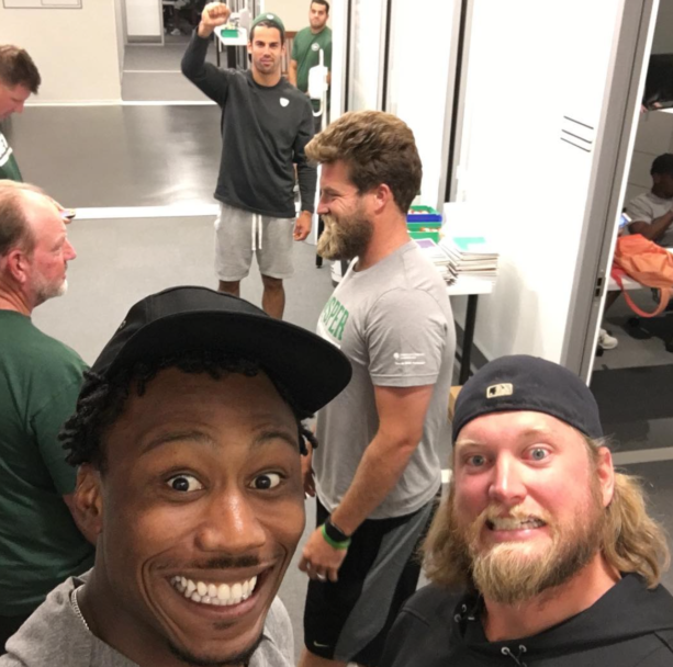 Brandon Marshall Welcomes Back Ryan Fitzpatrick